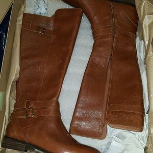 NWT Lucky brand Paxtreen Riding Boots.